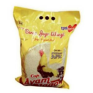 beras cap ayam jago kuning 5 kg